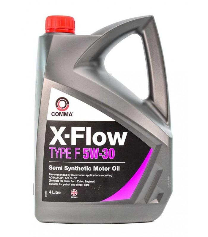 Моторное масло Comma X-FLOW F 5W30 SEMI.4L