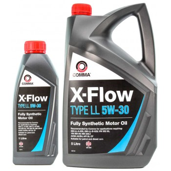 Моторное масло Comma X-FLOW LL 5W30 SYNT. 1L
