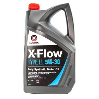 Моторное масло Comma X-FLOW LL 5W30 SYNT. 5L