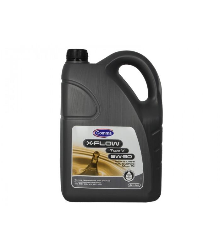 Моторное масло Comma X-FLOW V 5W30 4L