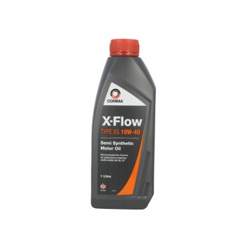 Моторное масло Comma X-FLOW XS 10W40 SEMI. 1L