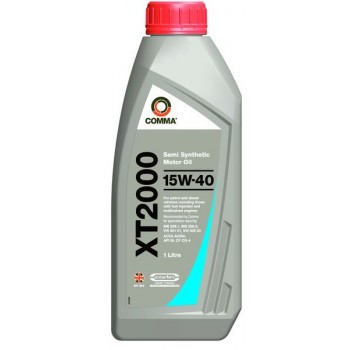 Моторное масло Comma XT2000 15W40 1L