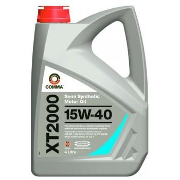 Моторное масло Comma XT2000 15W40 4L