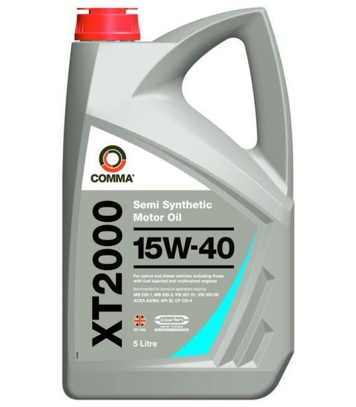 Моторное масло Comma XT2000 15W40 5L