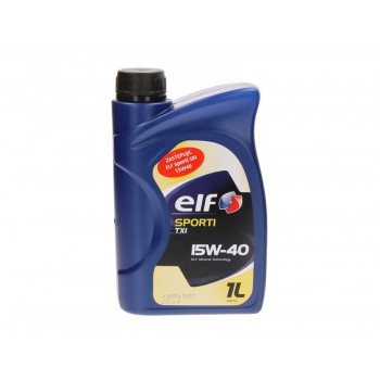 Моторное масло Elf SPORTI TXI 15W40 1L