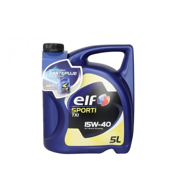 Моторное масло Elf SPORTI TXI 15W40 5L