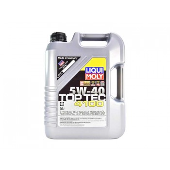 Моторное масло Liqui Moly Top Tec 4100 5W-40 5L