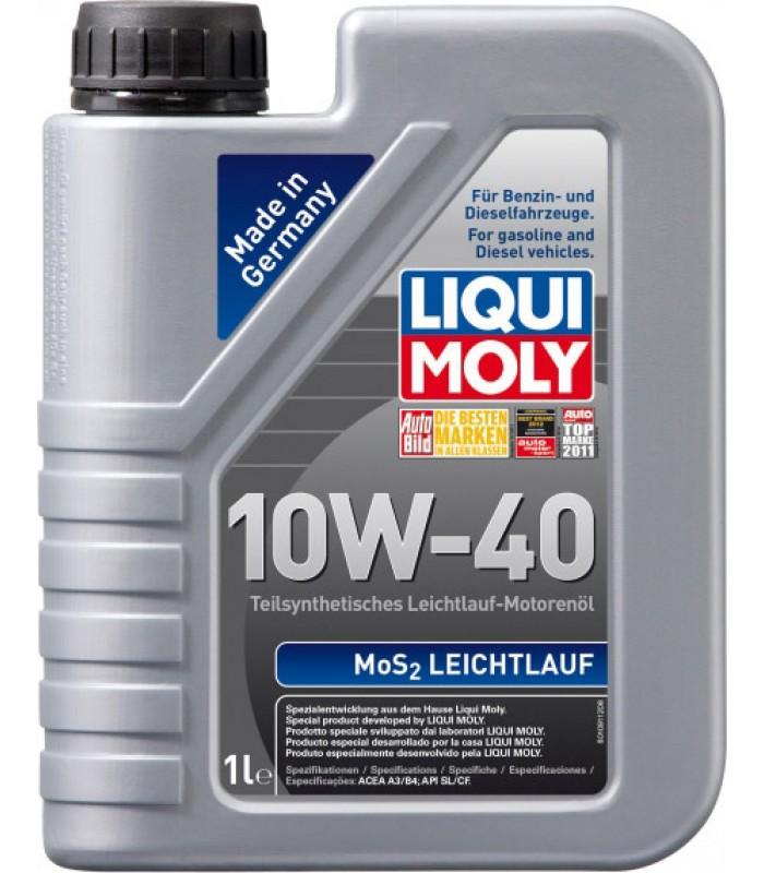 Моторное масло Liqui Moly MoS2 Leichtlauf 10W-40 1L