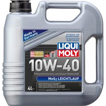 Моторное масло Liqui Moly MoS2 Leichtlauf 10W-40 4L