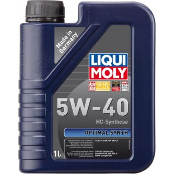 Моторное масло Liqui Moly Optimal Synth 5W-40 1L