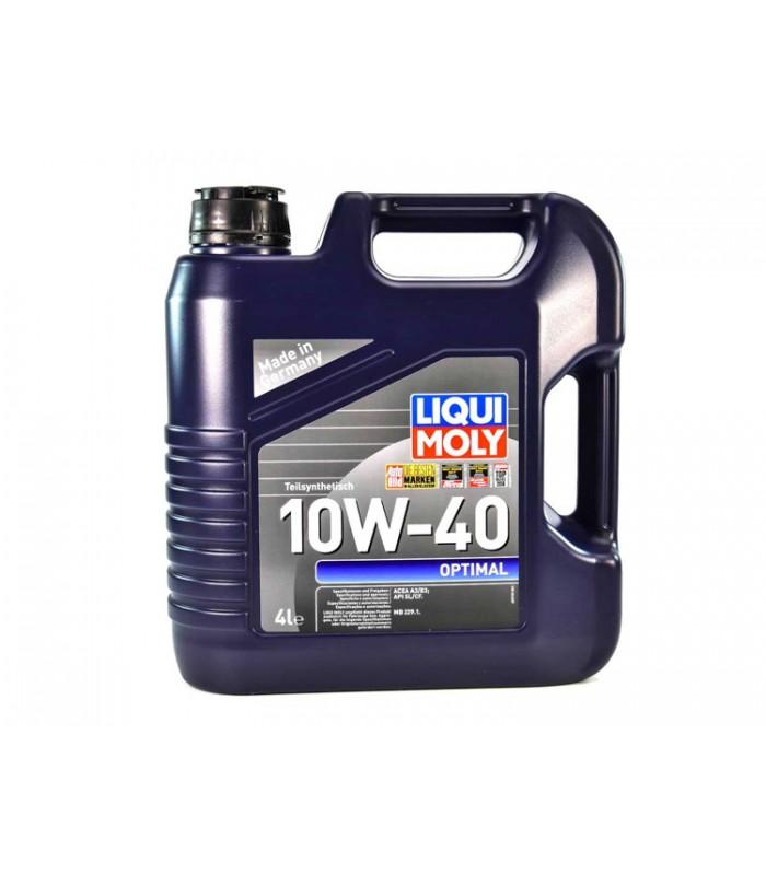 Моторное масло Liqui Moly Optimal 10W-40 4L