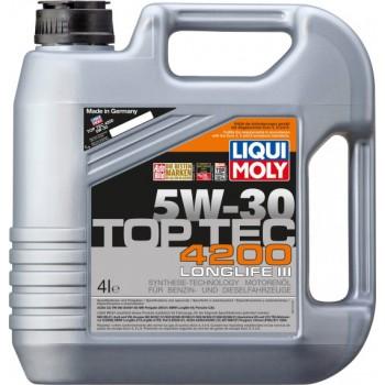 Моторное масло Liqui Moly Top Tec 4200 5W-30 4L