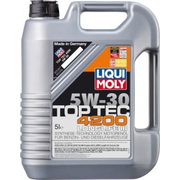 Моторное масло Liqui Moly Top Tec 4200 5W-30 5L