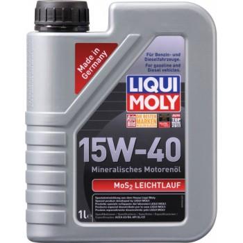 Моторное масло Liqui Moly MoS2 Leichtlauf 15W-40 1L