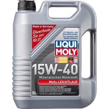 Моторное масло Liqui Moly MoS2 Leichtlauf 15W-40 5L