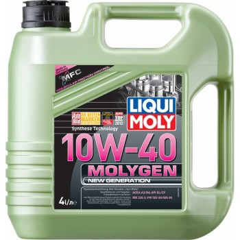 Моторное масло Liqui Moly Molygen New Generation 10W-40 4L