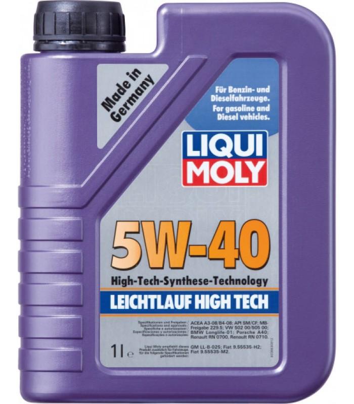 Моторное масло Liqui Moly Leichtlauf High Tech 5W-40 1L