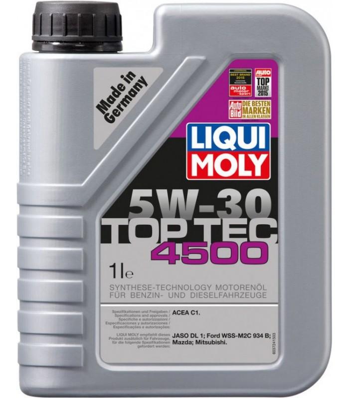 Моторное масло Liqui Moly Top Tec 4500 5W-30 1L