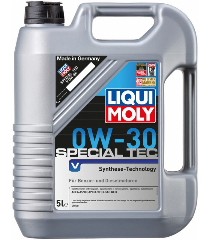 Моторное масло Liqui Moly Special Tec V 0W-30 5L