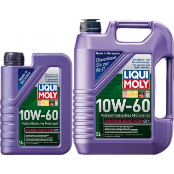 Моторное масло Liqui Moly Synthoil Race Tech GT1 10W-60 1L