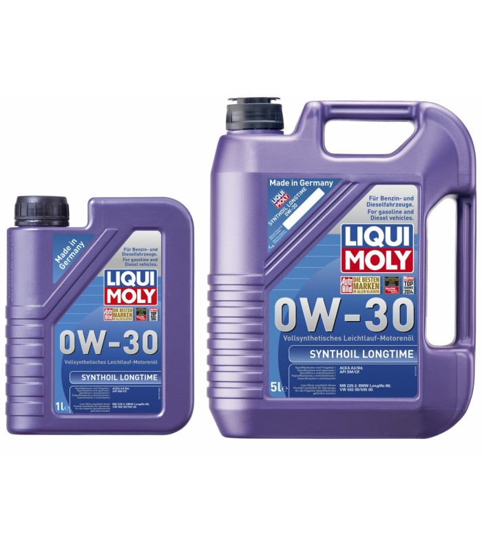 Моторное масло Liqui Moly Synthoil Longtime 0W-30 1L