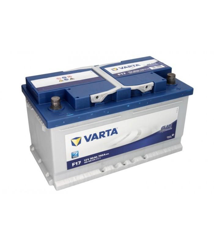 Аккумулятор Varta 80Ah/740A BLUE DYNAMIC B580406074