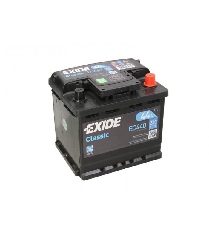 Аккумулятор Exide 44Ah/360A CLASSIC EC440