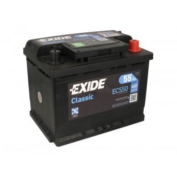 Аккумулятор Exide 55Ah/460A CLASSIC EC550