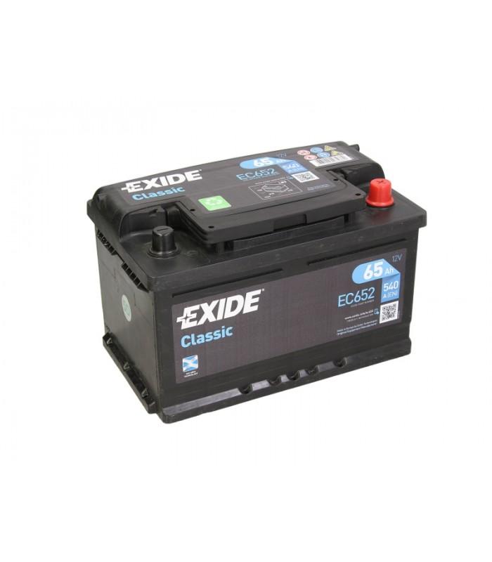 Аккумулятор Exide 65Ah/540A CLASSIC EC652