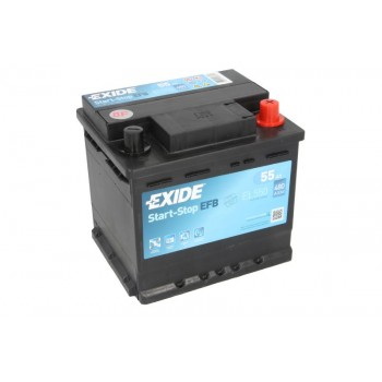 Аккумулятор Exide 55Ah/480A START&STOP EFB EL550
