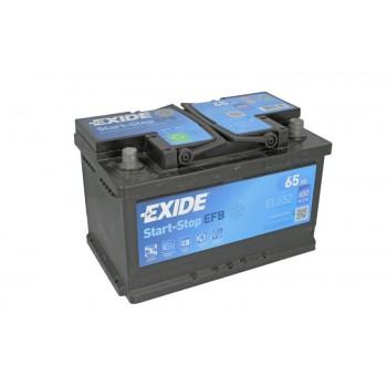 Аккумулятор Exide 65Ah/650A START&STOP EFB EL652