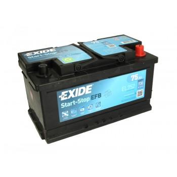 Аккумулятор Exide 75Ah/730A START&STOP EFB EL752