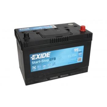 Аккумулятор Exide 95Ah/800A START&STOP EFB EL954