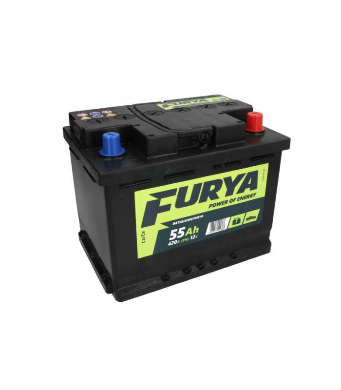 Аккумулятор Furya 55Ah/420A BAT55/420R/FURYA