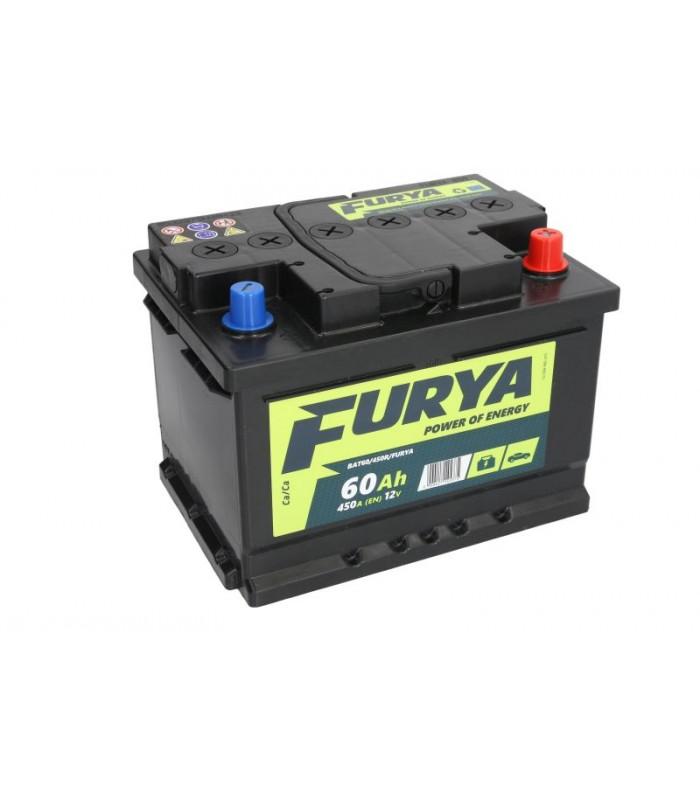 Аккумулятор Furya 60Ah/450A BAT60/450R/FURYA