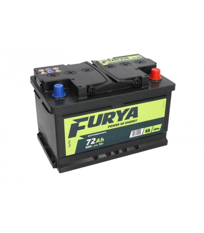 Аккумулятор Furya 72Ah/600A BAT72/600R/FURYA