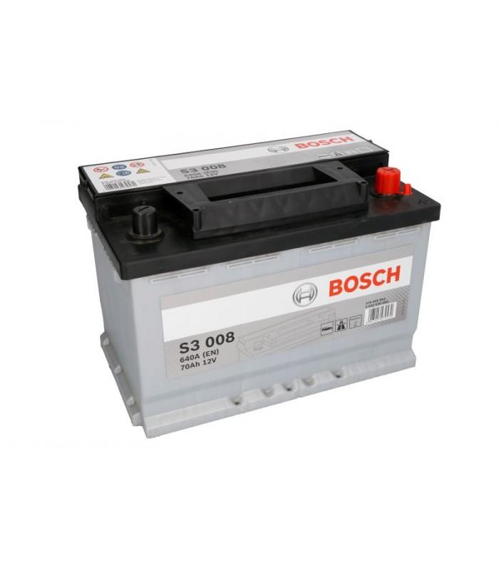 Аккумулятор Bosch 70Ah/640A S3 0 092 S30 080