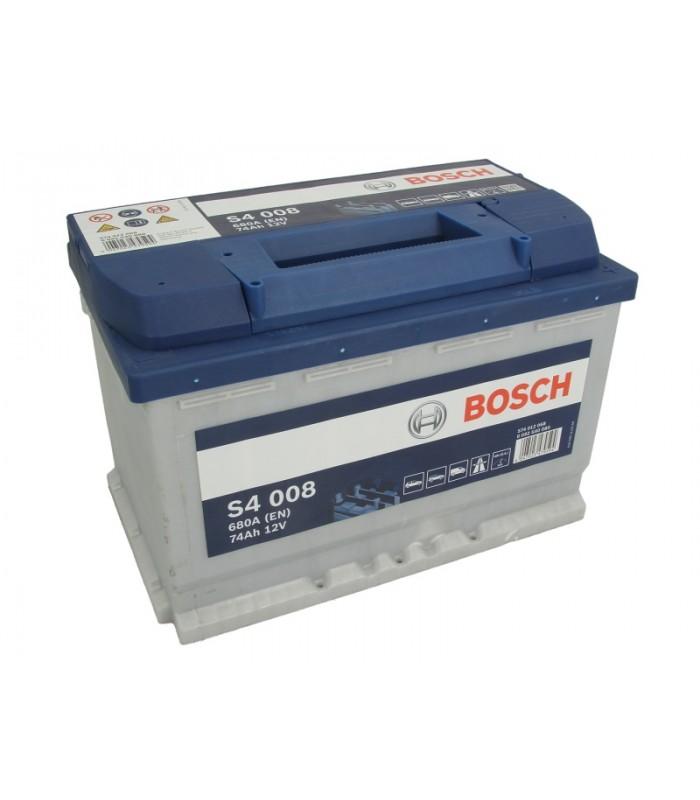 Аккумулятор Bosch 74Ah/680A S4 0 092 S40 080