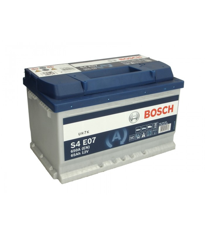 Аккумулятор Bosch 65Ah/650A EFB 0 092 S4E 070